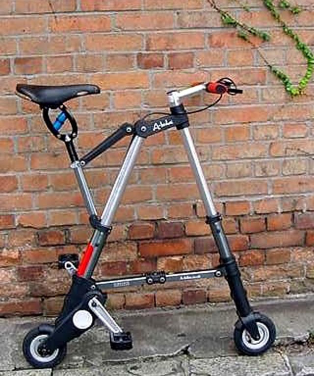 A-Bike Central - Sinclair A-Bike / ABike / A Bike Folding